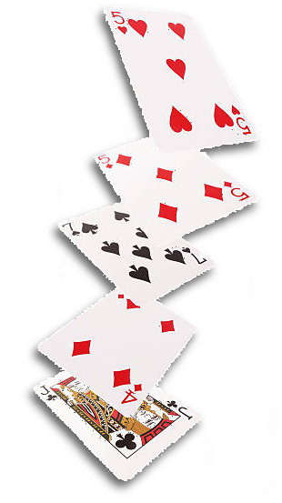 Falling Playing Cards Playing Card Full Size Png