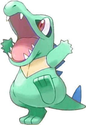 158 Totodile E2 Shiny Totodile Qr Code Sun Moon Full Size Png Download Seekpng It is known as the big jaw pokémon. 158 totodile e2 shiny totodile qr