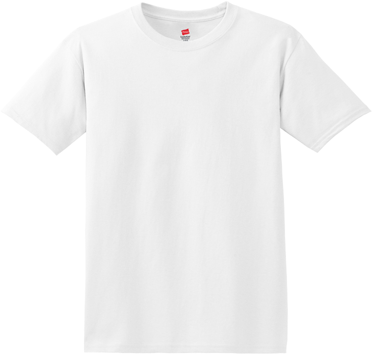 A Template Short Sleeve T Shirt Gildan White T Shirt Png Full Size Png Download Seekpng