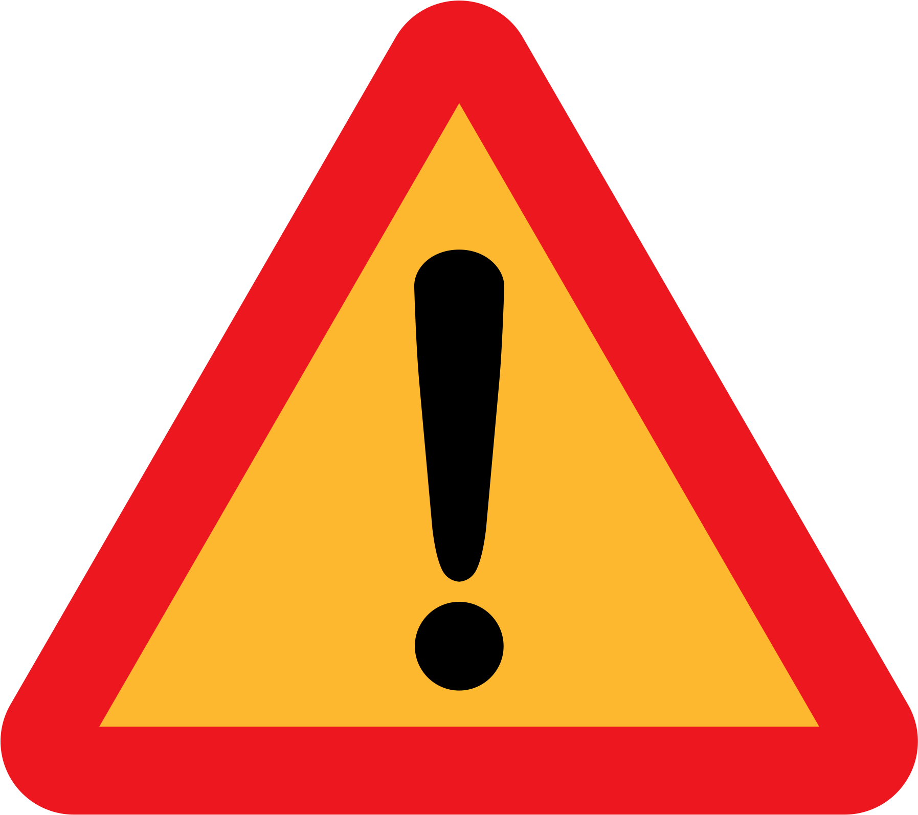 Danger Sign From Wikipedia - Under Construction Png Icon