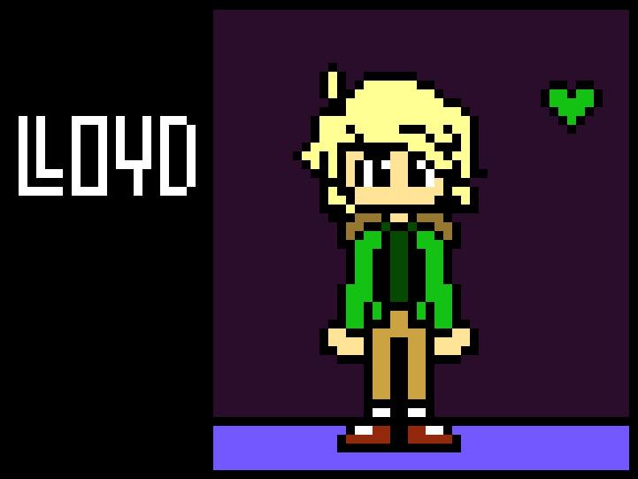 Undertale Lloyd Sprite Lloyd Ninjago Pixel Art Full Size