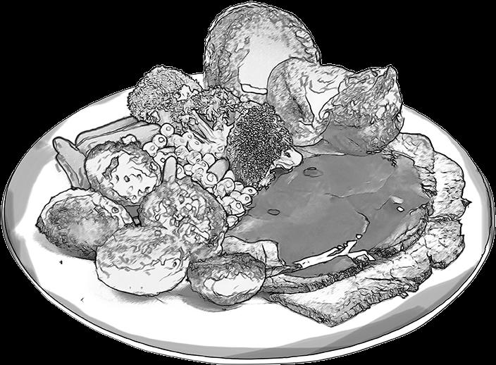 Transparent Food Sketch M 02csf Full Size Png Download Seekpng