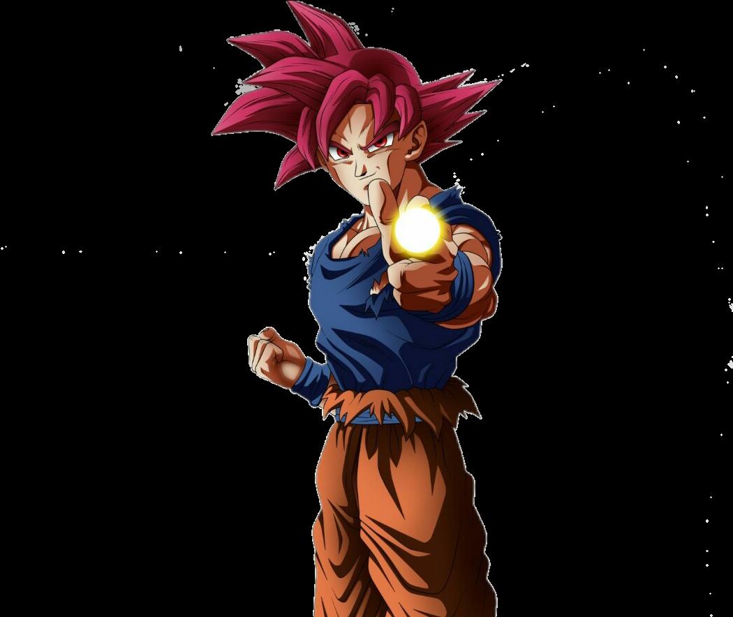 Goku Ssj God Vs Kefla Full Size Png Download Seekpng
