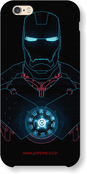 Sale Glowing Iron Man Case - Note 9