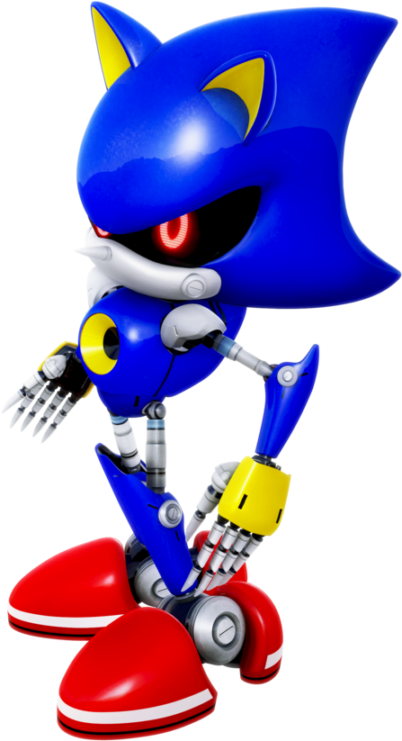 Sonic And Amy Metal Sonic And Modern Amy In Her Classic Sonic The Hedgehog Full Size Png Download Seekpng
