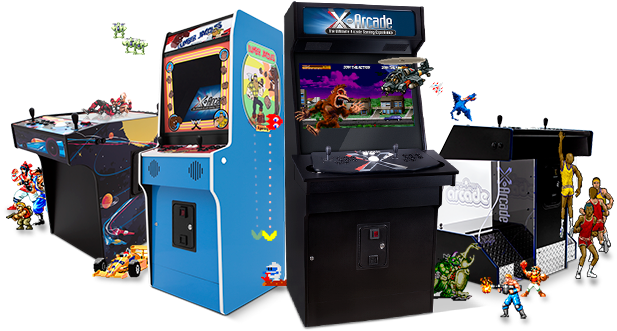 Home Arcade Games - X-arcade (645x344), Png Download