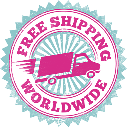 Free Shipping Worldwide - Free Shipping Worldwide Transparent (500x500), Png Download