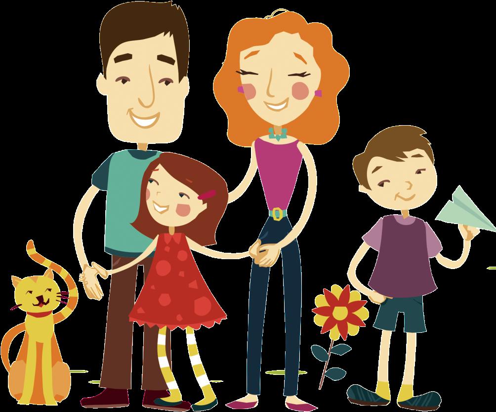шнуровке красивые семейные мультяшные картинки подаренные празднику