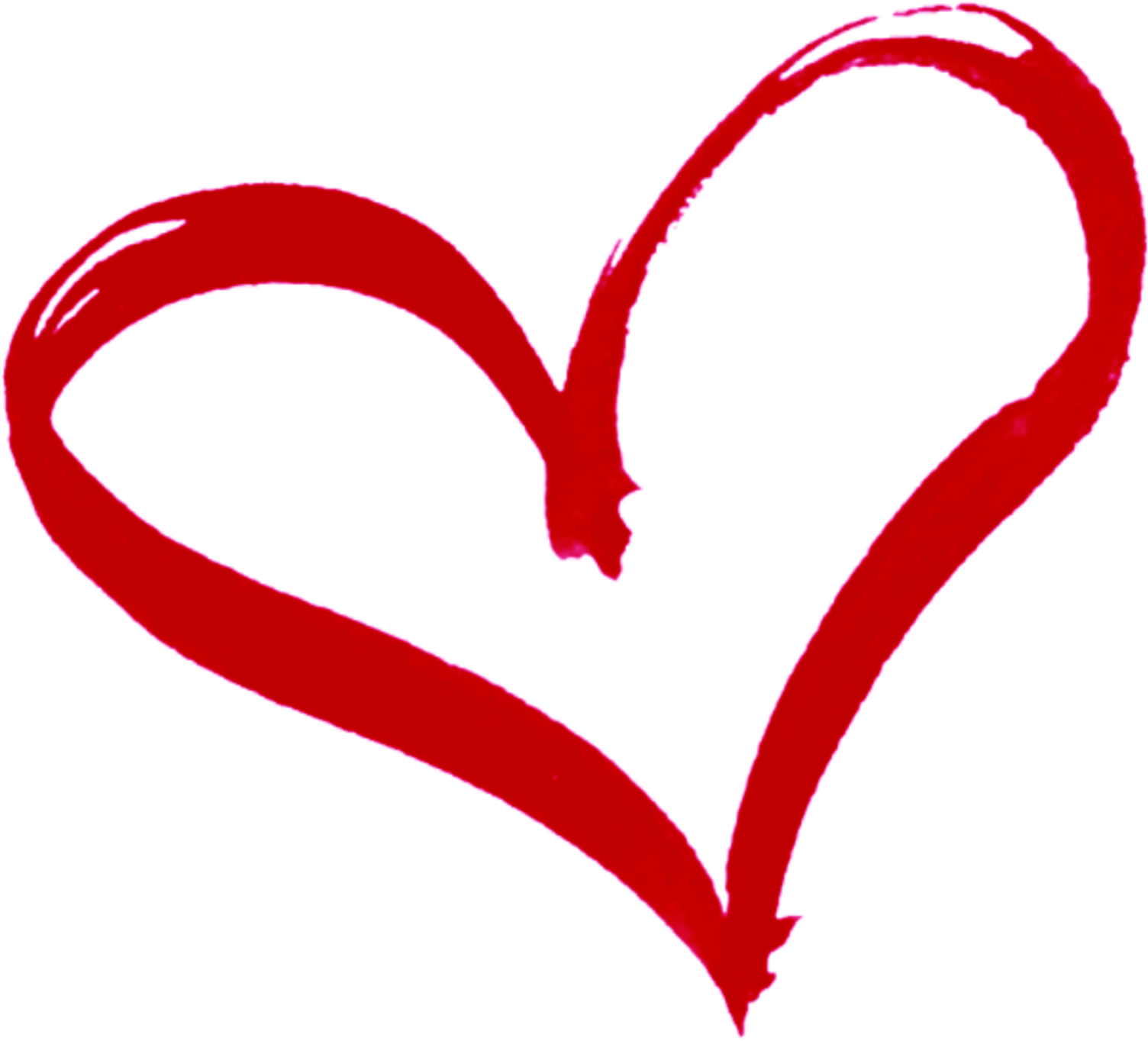 Download Heart Outline Vector Icons - Drawn Heart Outline ...