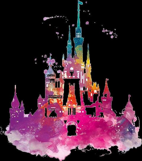 Download Disney World Castle Watercolor | Transparent PNG ...