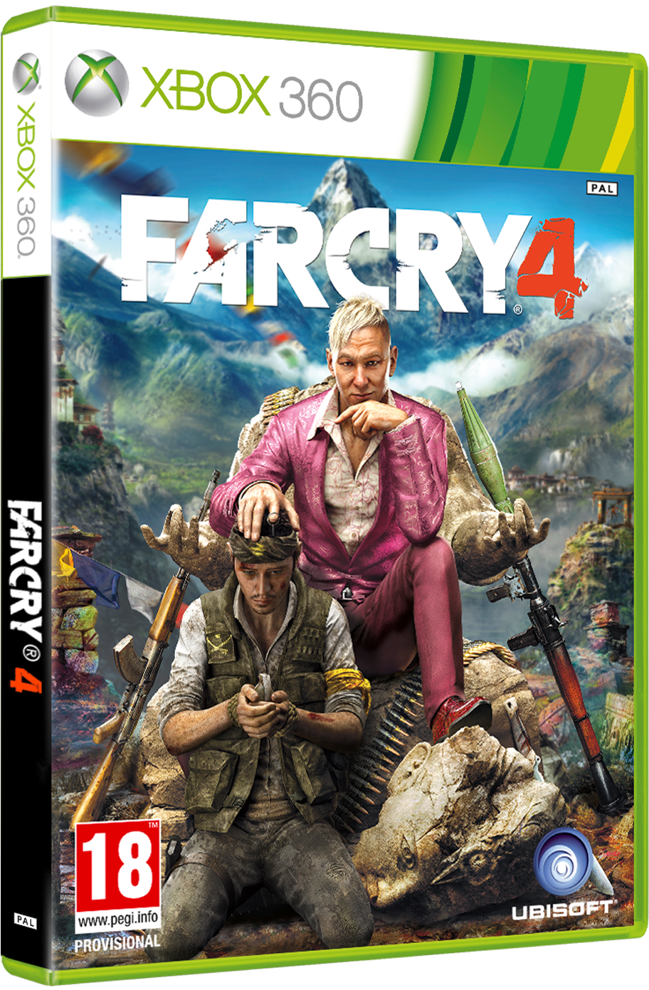 Far Cry 4 Announced Far Cry 4 Classics Xbox 360 Full Size Png Download Seekpng