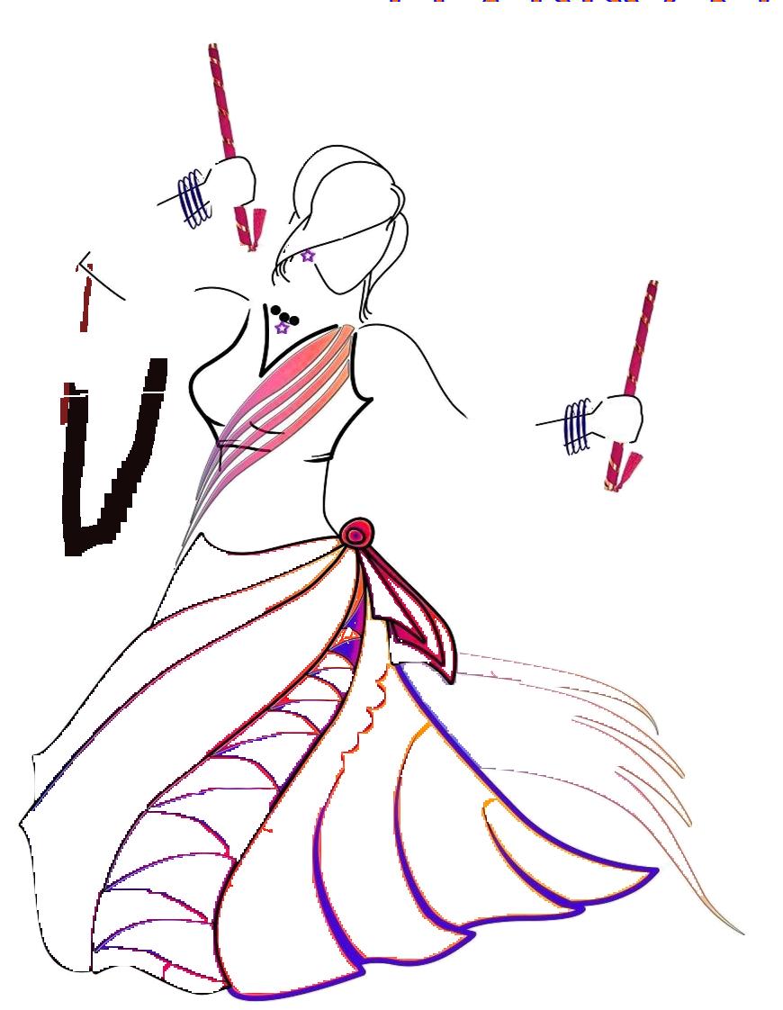 Navratri Sketch Easy Drawing Of Navratri Full Size Png Download Seekpng