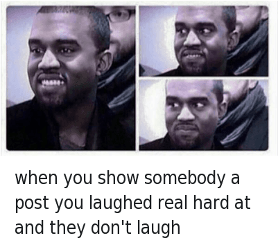 Kanye Mfw And Aed Kanye West Laughing Meme Full Size Png Download Seekpng