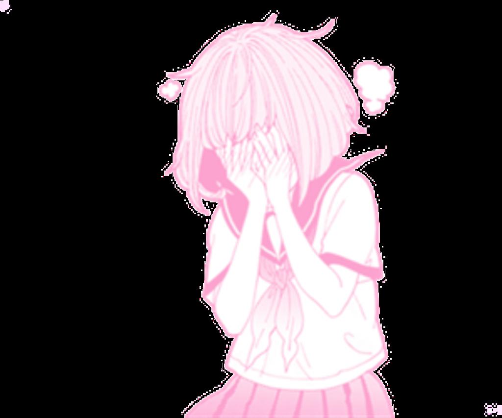 Cute tumblr pink pinkfilter anime animegirl edit kawaii