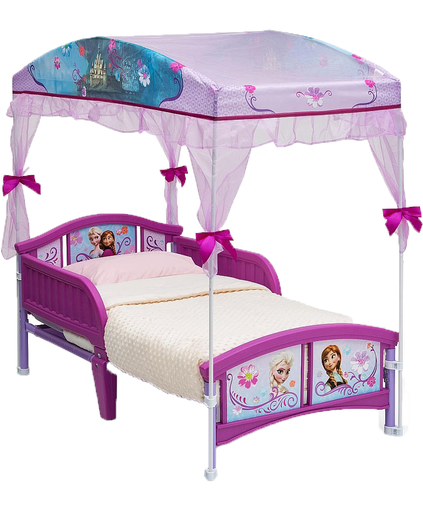 - Frozen Toddler Bed With Canopy Full Size PNG Download SeekPNG