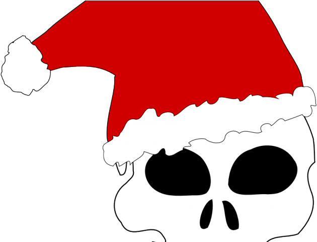 Christmas Hat Drawing Png.Scary Clipart Christmas Santa Claus Hat Drawing Full