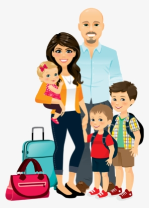 Family Walking To Travel Activity Travel Winter Family At Airport Png Png Image Transparent Png Free Download On Seekpng