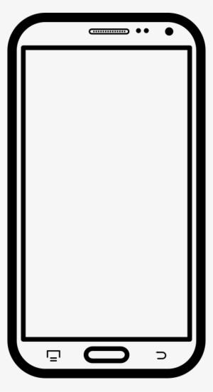 Pngt Black Border Mobile Phone - BerkshireRegion