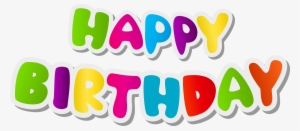 Happy Birthday Png Images Png Cliparts Free Download On Seekpng
