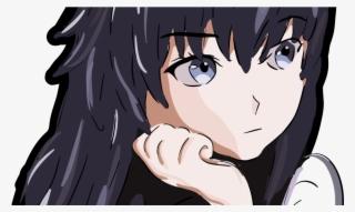 Cartoon Sad Anime Girl Wallpaper Hd Png Image Transparent Png Free Download On Seekpng
