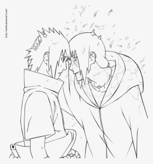 Itachi Uchiha Drawing At Getdrawings Sasuke And Itachi Coloring Pages Png Image Transparent Png Free Download On Seekpng