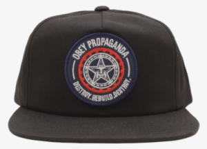 f4c9ff914231e Obey Hat Png Obey Hat Png Obey Hat New Original Snap - Obey Men s Rebuild  Destroy