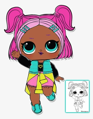 1 002 Glitter Queen Lol Doll Cake Lol Surprise Glitter Queen Png Image Transparent Png Free Download On Seekpng