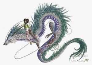 Spirited Away By Sunima Haku Spirited Away Dragon Png Png Image Transparent Png Free Download On Seekpng