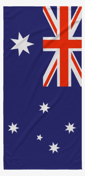 Australia Flag With Name PNG Image | Transparent PNG Free