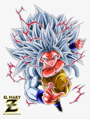 Goku ssj ssj full color palette by benj san on - San goku super saiyan 5 ...
