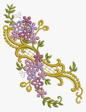 Silk Ribbon Embroidery Floral Embroidery Antique Chinese
