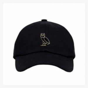 c54dbd48c09a5 Ovo Owl Dad Cap Strapback Hat Black 1 - Baseball Cap. PNG