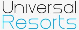 Universal Resorts-01 - Universal Resorts Maldives Logo PNG Image |  Transparent PNG Free Download on SeekPNG