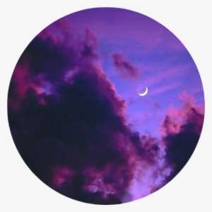 Tumblr Aesthetic Pastel Space Stars Moon Png Aesthetic Dark Clouds With Moon Png Image Transparent Png Free Download On Seekpng
