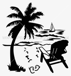 Beach Chair Ocean Hay Day Png Verão Png Image Transparent Png