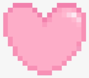 Pink Pixel Heart Png Minecraft Empty Heart Png Image Transparent Png Free Download On Seekpng