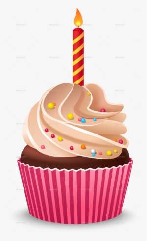 Birthday Cupcake Png Clipart Free Download Birthday Cupcake Transparent Background Png Image Transparent Png Free Download On Seekpng
