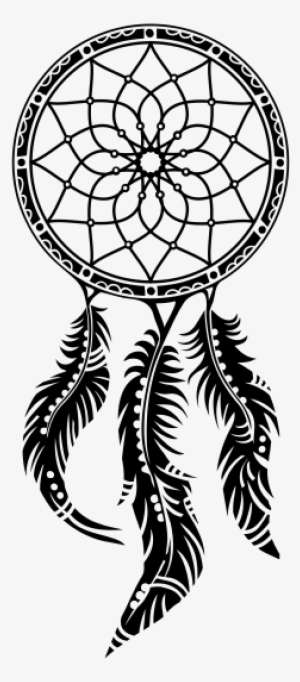 Dibujos De Atrapasueños A Lapiz Dreamcatcher Clipart Black And