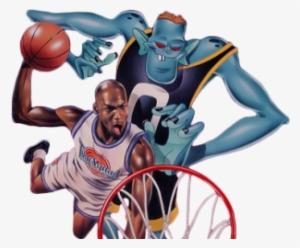 02b42f38e3f Basketball Michael Jordan Png Space Jam Basket Ball - Space Jam Twitter  Header