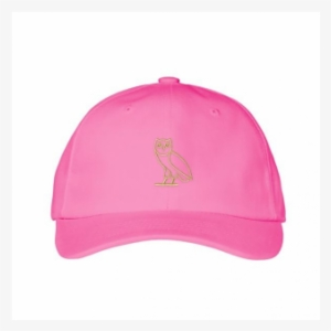 2364d3ee409 Ovo Owl Dad Cap Strapback Hat Pink 1 - Baseball Cap