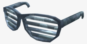 a8f758d7bf Bluesteel Shutter Shades - Roblox All Shutter Glasses PNG Image ...