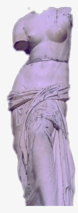 77fd654b86ff1 Vaporwave Aesthetic Freetoedit - Transparent Purple Vaporwave Statue