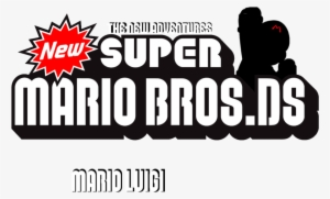 New Super Mario Bros Ds Logo By Sy24 D9xtlx Newer Super Mario
