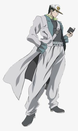 Jotaro Kujo Whitesuit Cutout Render By Jotaro Kujo Part 4
