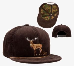 ff5734e7e4b Coal The Wilderness Brown Corduroy Deer Snapback Cap - Coal Wilderness Mens  Hat · PNG