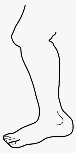 Png Cartoon Legs And Arms Clip Art Black And White Leg