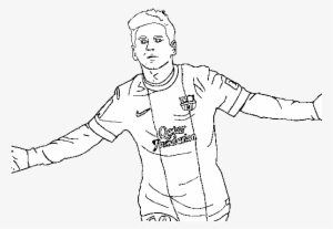 soccer star messi coloring pages - photo#6