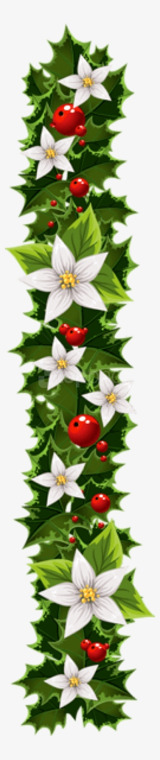 Christmas Garland Png Images Png Cliparts Free Download On Seekpng