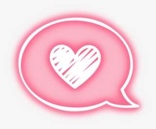Amor Clipart And Heart Image Neon Tumblr Overlay Png Png Image