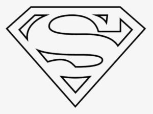 Black And White Superman Logo Png Transparent Image Superman Logo Coloring Pages Png Image Transparent Png Free Download On Seekpng